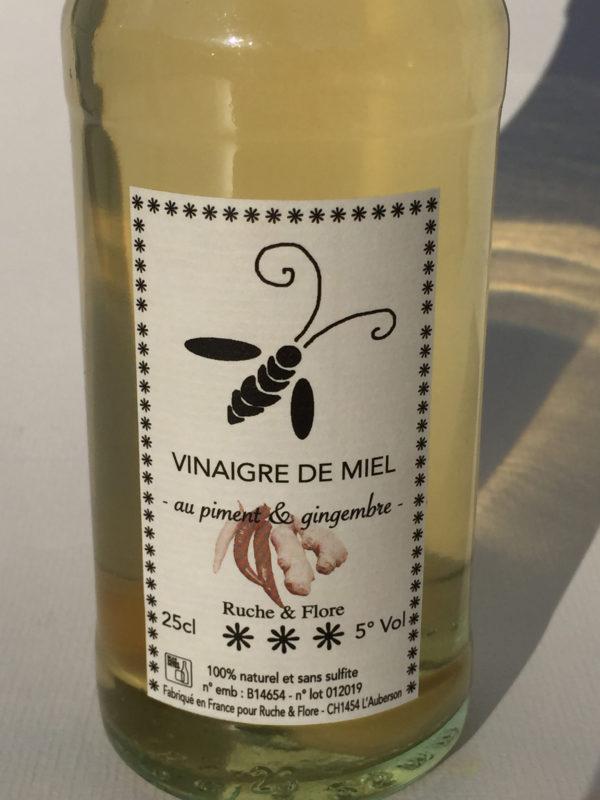 vinaigre de miel piment gingembre-3