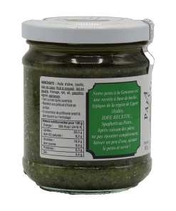 Pesto a la Genovese a l huile d olive vierge extra 180g 02