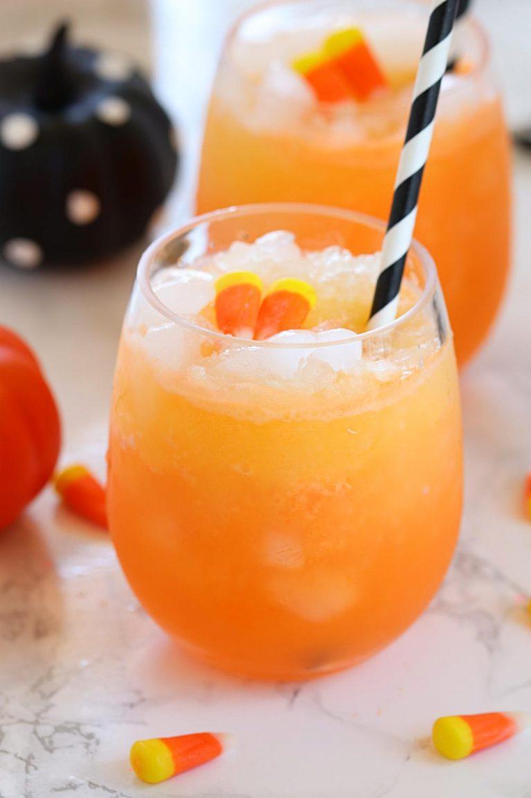 Halloween Orange Sherbet Punch Halloween party Punch