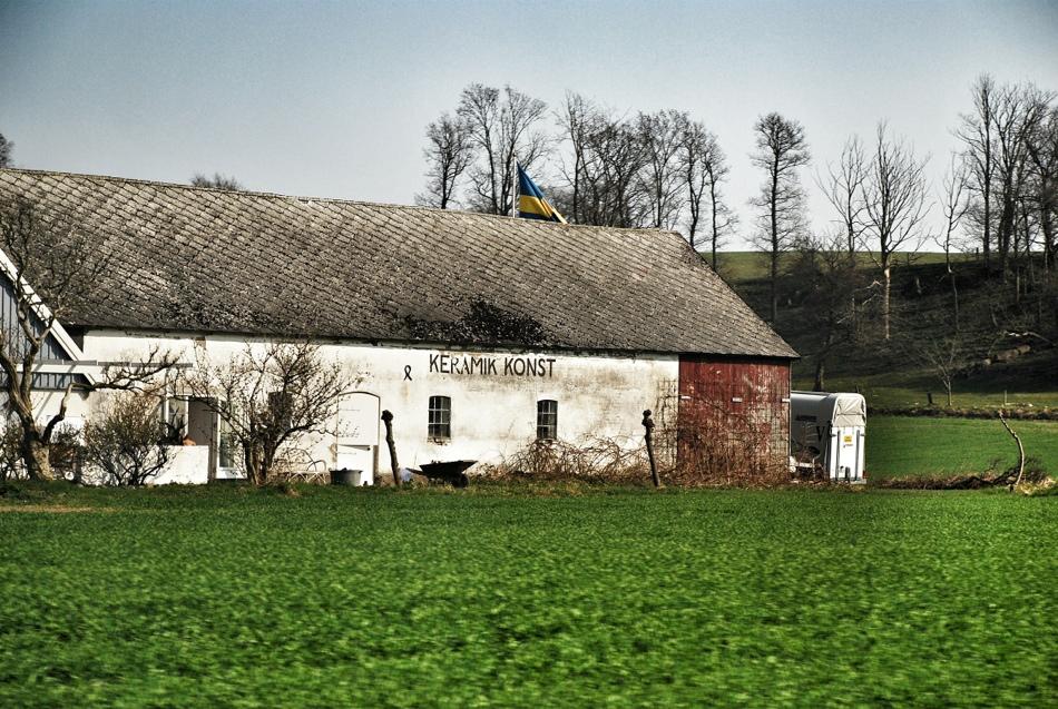 Skåne: Fotoalbum från vitsippor och fornlämningar