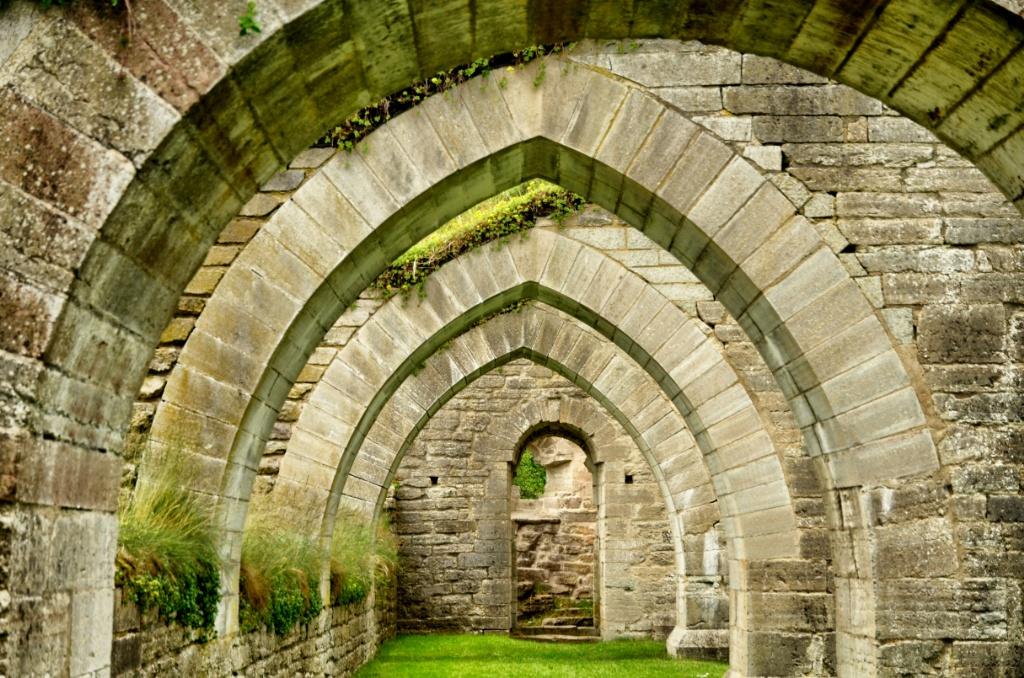 Alvastra kloster-Sweden