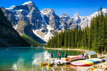 Moraine Lake i Banff NP