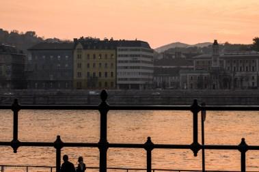 Kväll vid Donau
