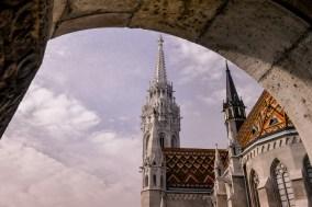 Mattiaskyrkan på slottshöjden