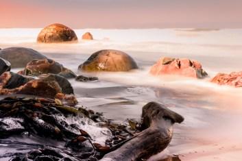Moeraki Boulders - Nya Zeeland