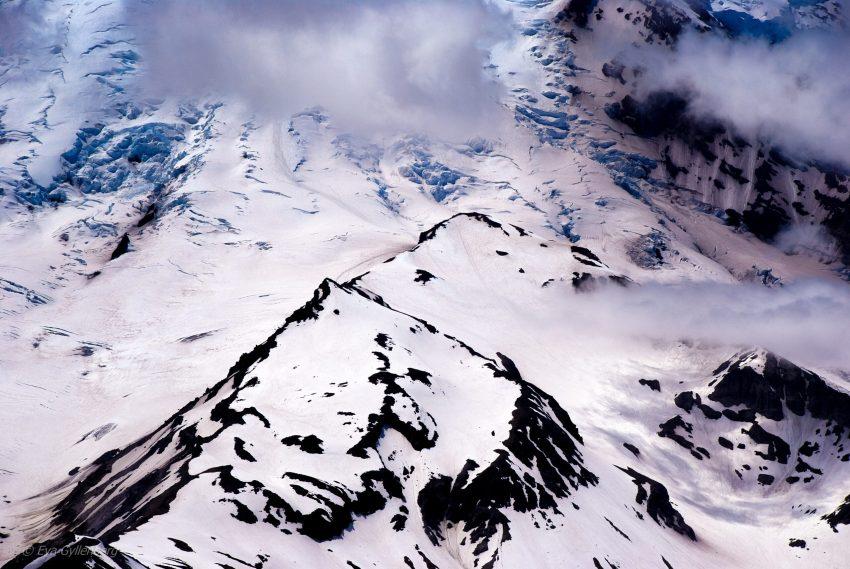 Glaciärer - Mount Rainier - Washington