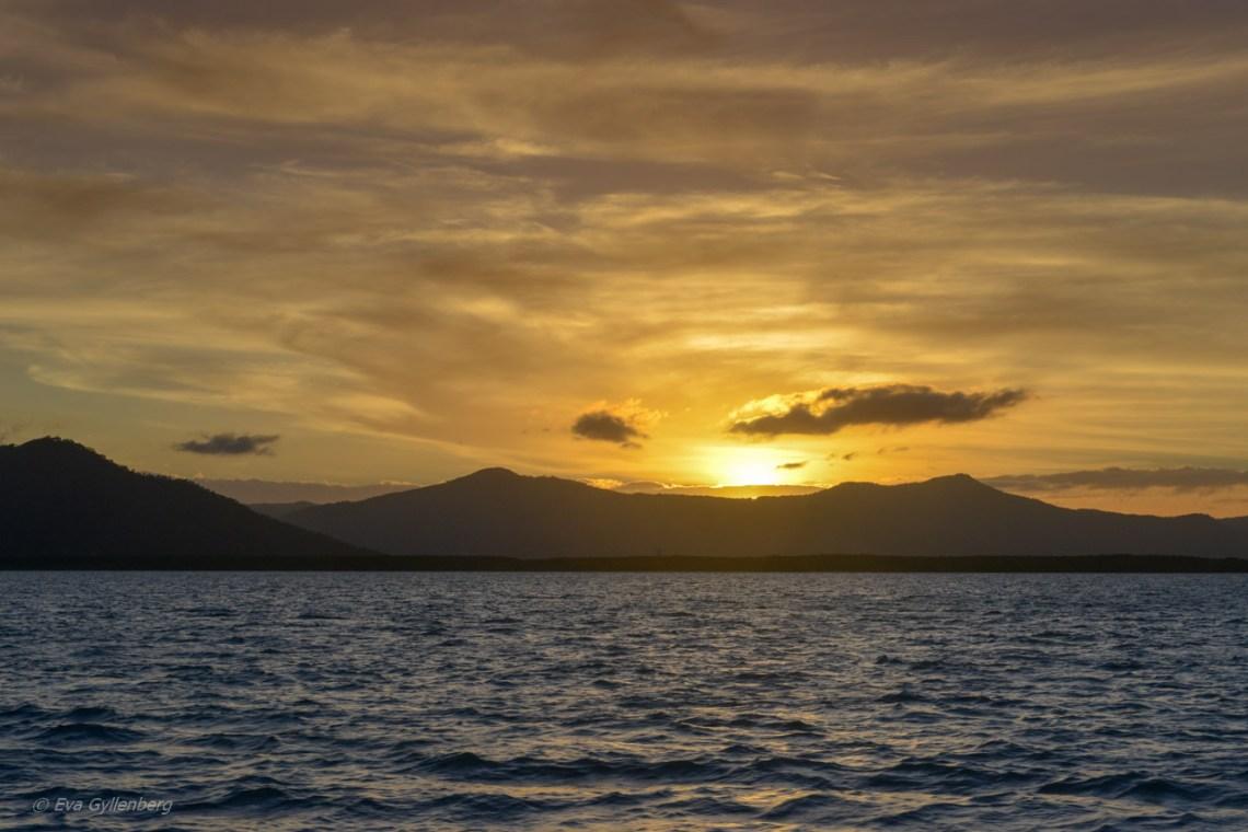 Fitzroy Island solnedgång
