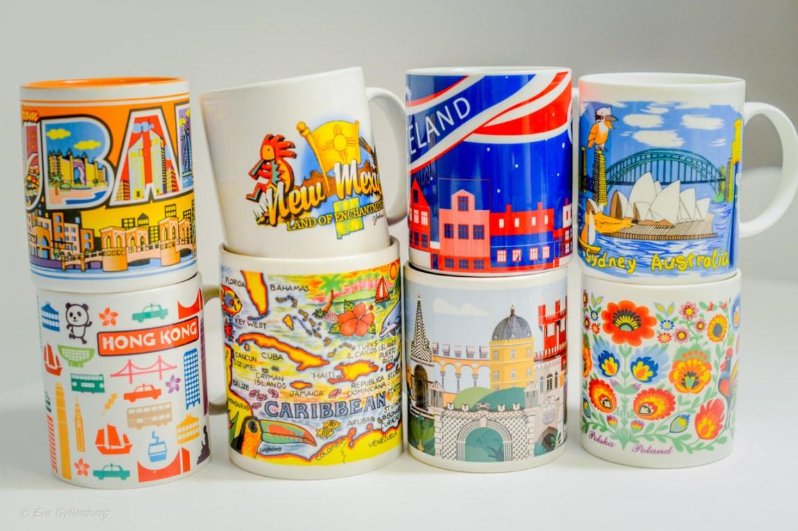 Kaffemuggar från min samling