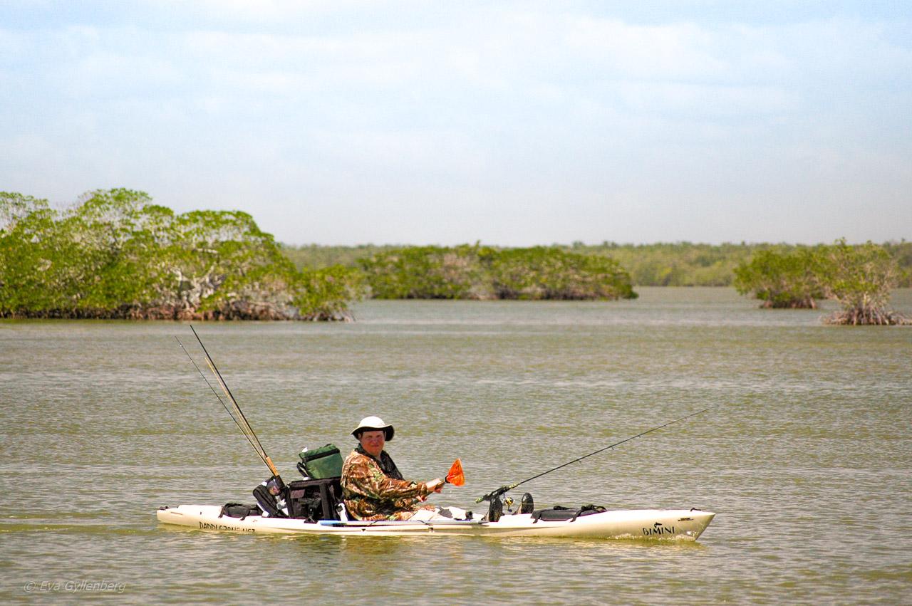 Everglades kanotist