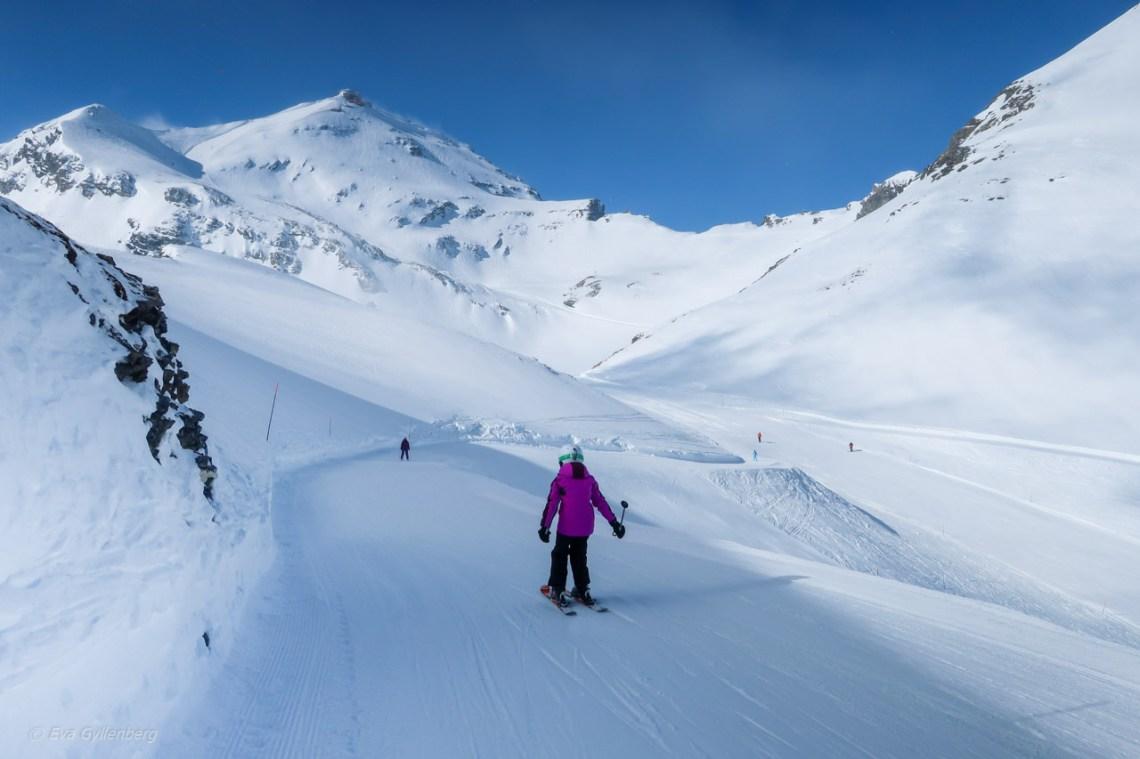 Jungfrau-Schweiz-skidåkning
