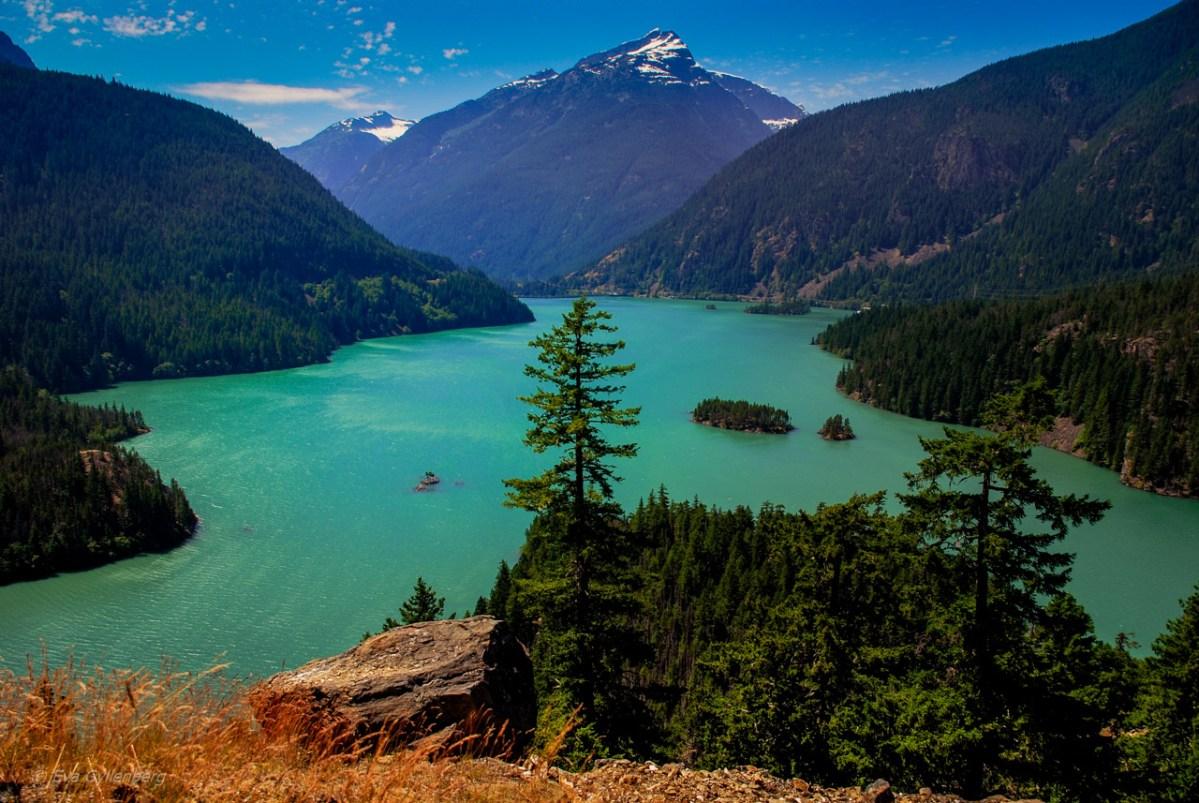 Äventyr kring North Cascades och Mount Baker