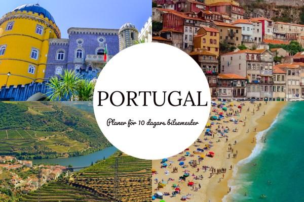 Bilsemester Portugal