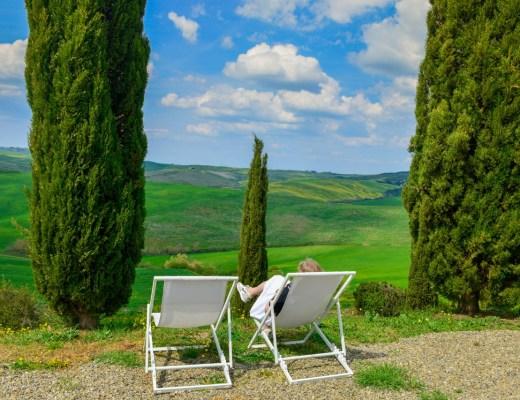 Eva relaxar i Toscana