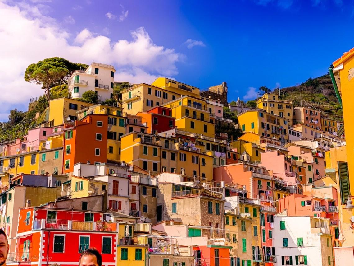 Riomaggiores färgglada hus