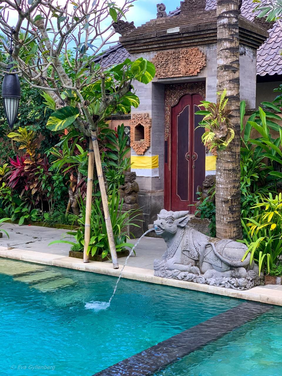 Villa på Dwaraka Royal Villas i Ubud