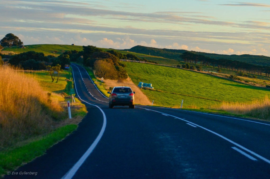 Australien-Bilkörning-Victoria