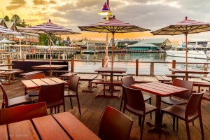 Hamnen i Fremantle, Australien