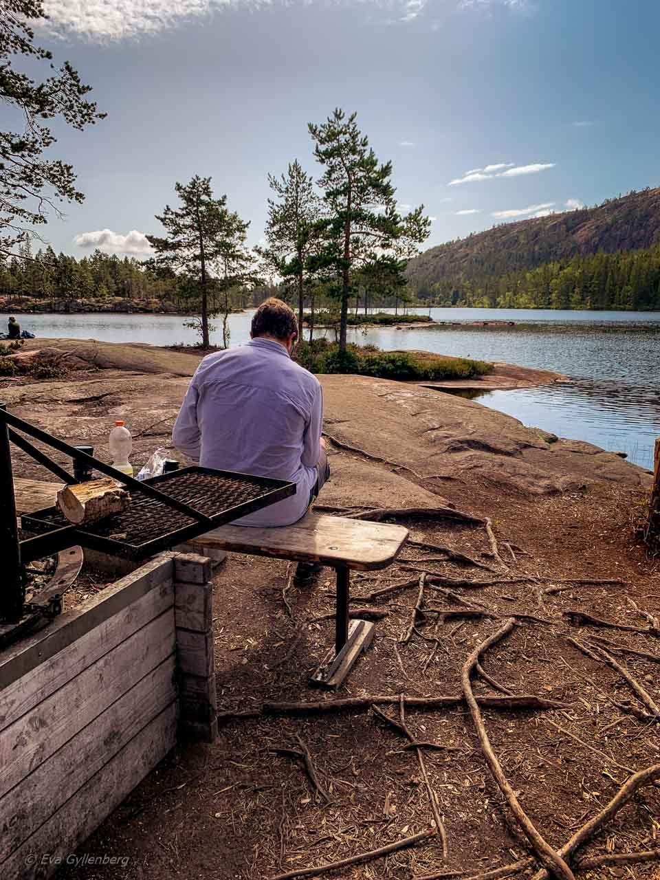 Tärnättvattnen in Skuleskogen