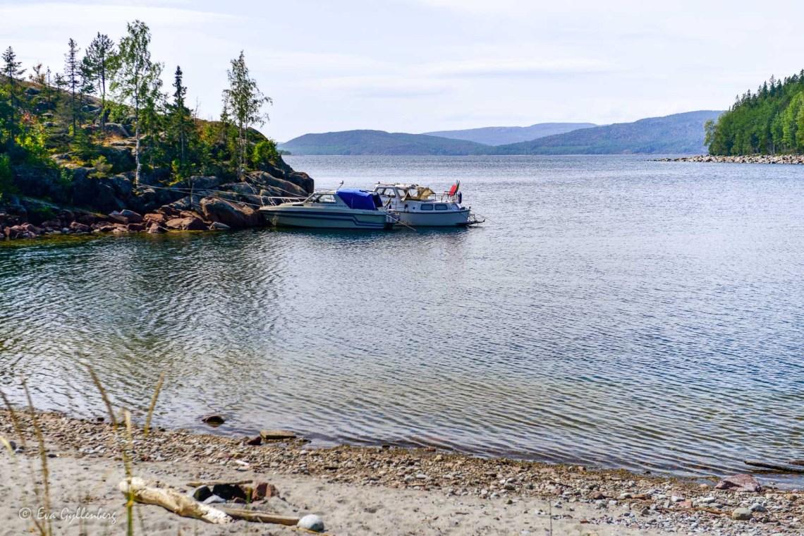 Båtgäster på Balesudden