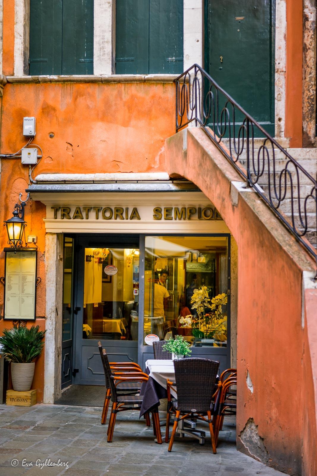 Trattoria i Venedig