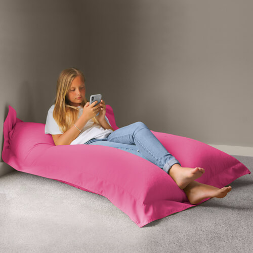 outdoor extra large squarbie bean bag