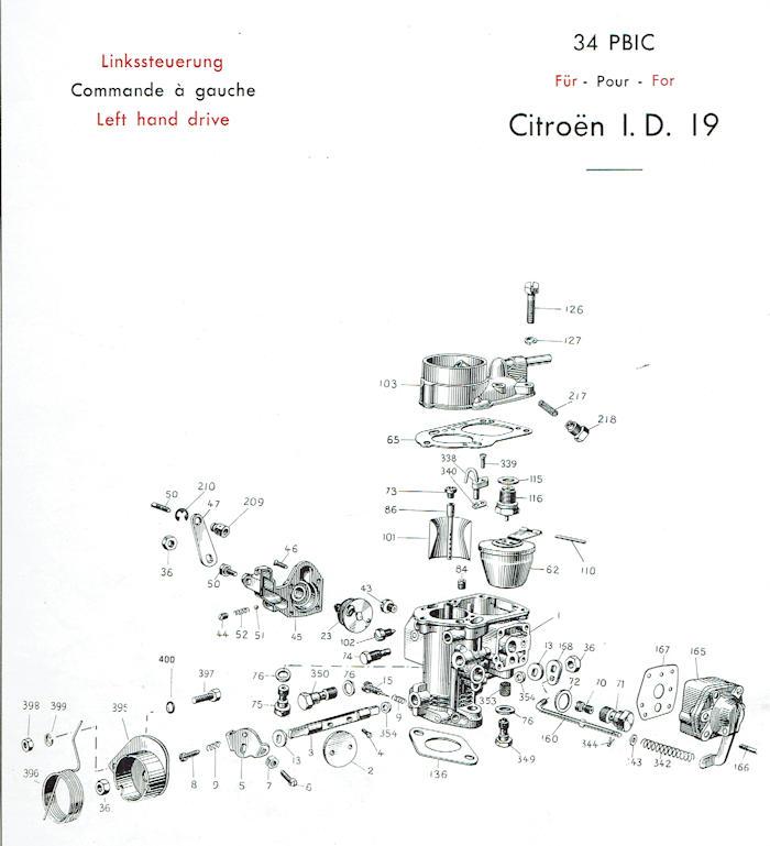 34PBICA / 32PBIC + 34PBIC Citroen+Peugeot