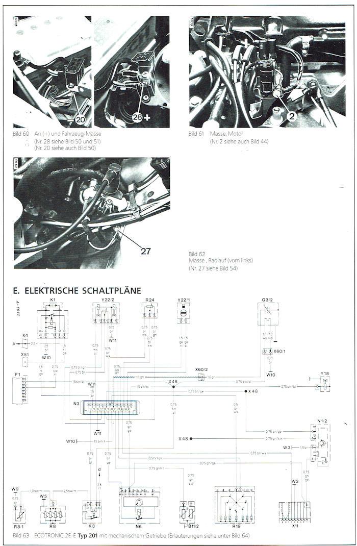 Service Anweisung 2E-E DB 190+200