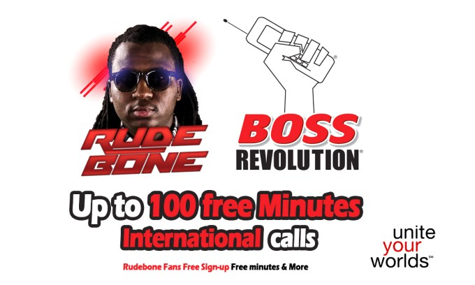 Rudebone Boss revolution Sign up