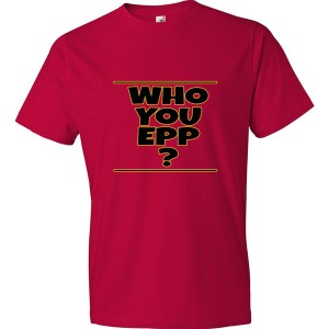 Who You Epp Short sleeve t-shirt Black Text