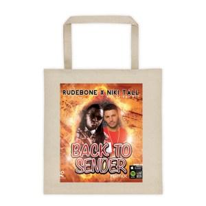 Back To Sender Remix beach Tote bag