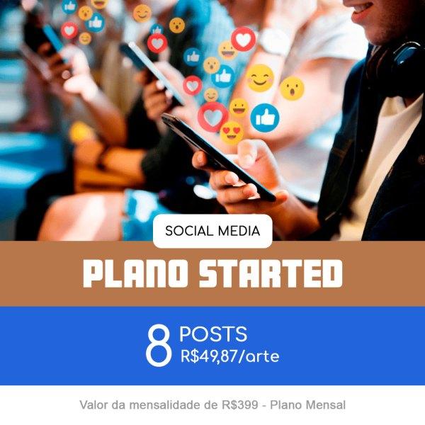 Plano Started - Mensal
