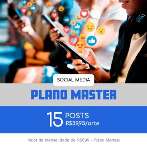 Plano Master - Mensal