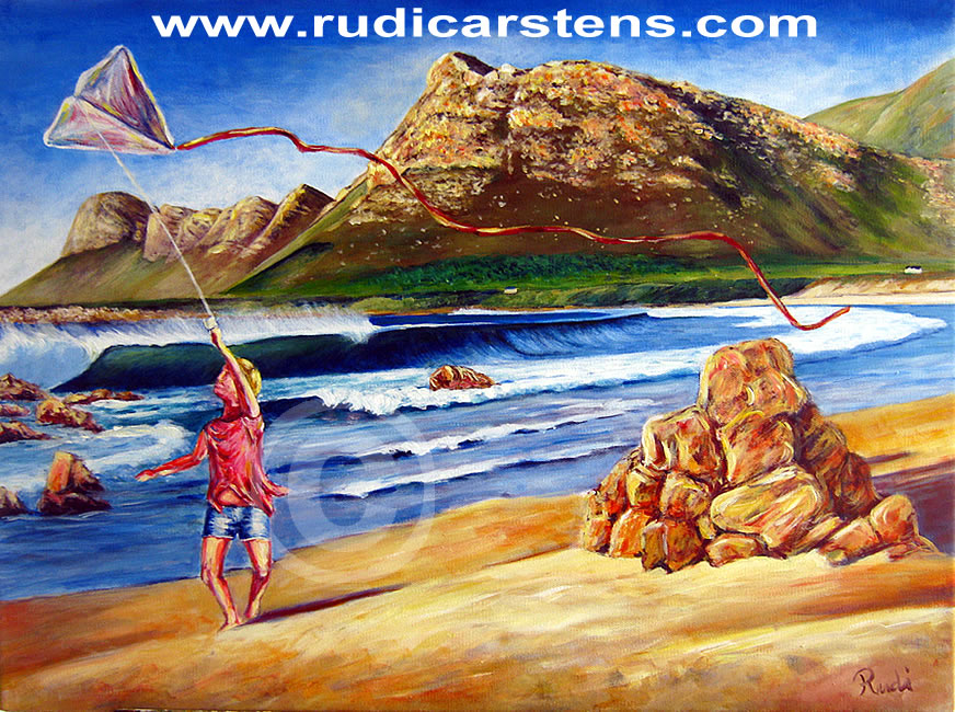 Acrylic Painting by Rudi Carstens