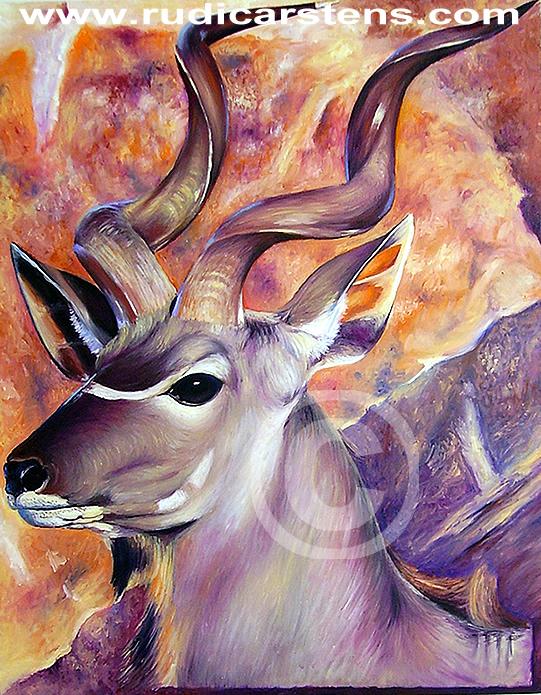 Painting of Kudu