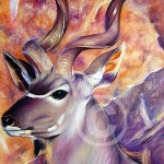 Painting of Kudu