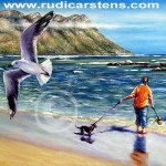 Oil Painting by Rudi Carstens