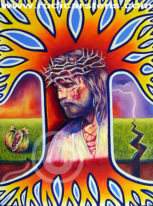 Christian Oil Painting