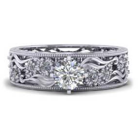 Classic Design Engagement Ring