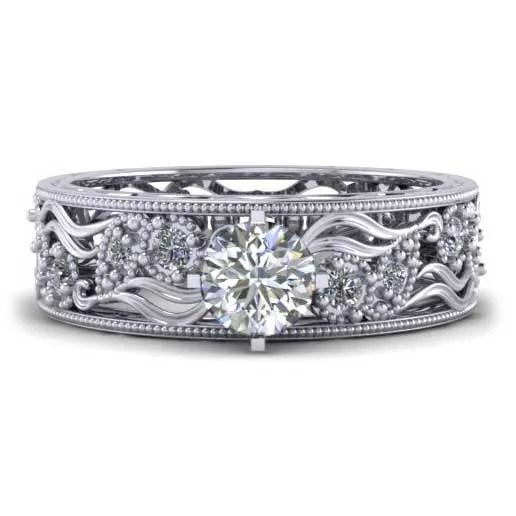 custom design ring - Antique Engagement Ring