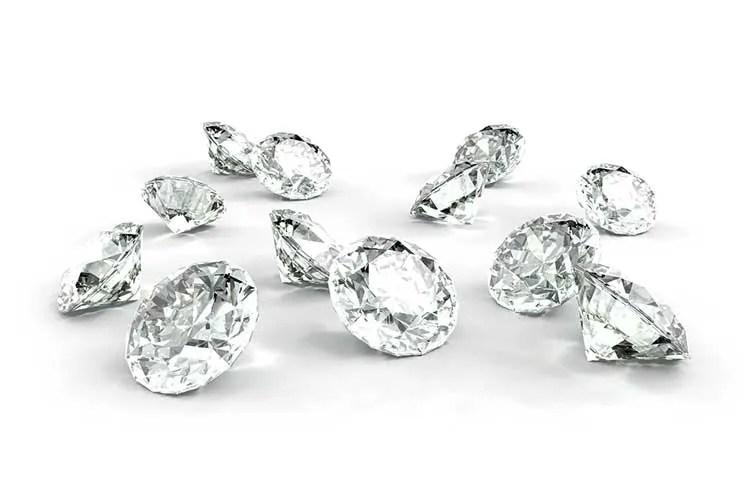 Loose Diamonds for custom design ring