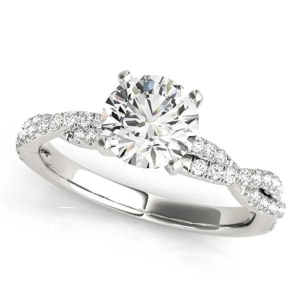 Halo Engagement Ring Rudix Jewellery Hamilton Ontario