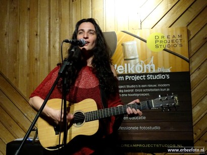 ErBeeFoto_Orit Shimoni (Little Birdie) Live Sessies Dreamprojectstudios 01