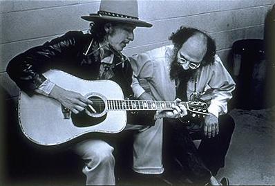 Rudy's Krabbels   Allen Ginsberg and Bob Dylan by Elsa Dorfman