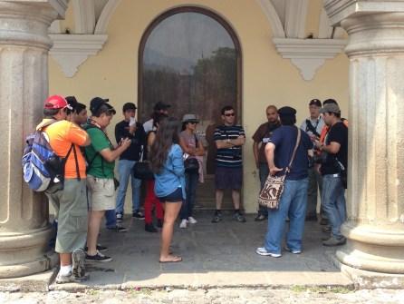 Reseña de la CAMINATA FOTOGRÁFICA: Revelando los secretos de Antigua Guatemala