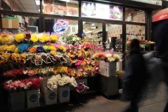 NYC flower shop by Rudy Giron