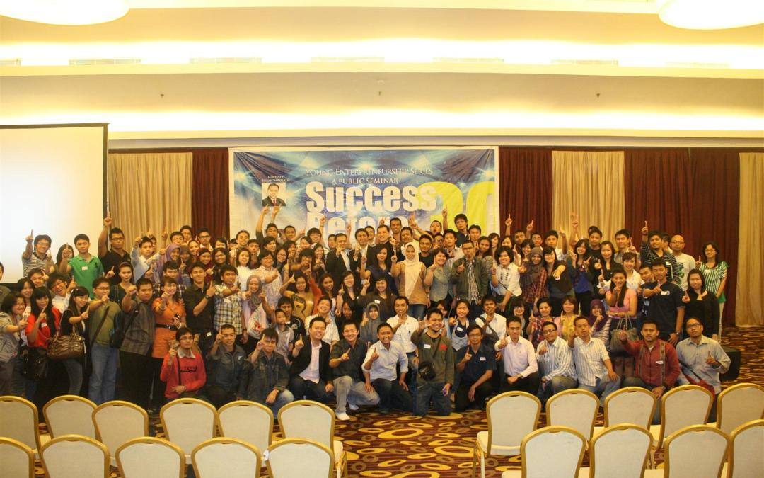 Public Seminar: Success Before 30