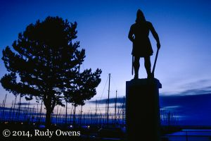 Seattle's Nordic Heritage on Display with Leif Eriksson Statue at Shilshole Bay