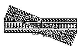16.5mm narrow gauge Track 3D printed