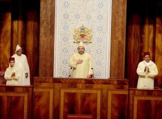 "Résultat de recherche d'images pour ""صور الملك محمد السادس في اخر خطاب ملكي بالبرلمان"""
