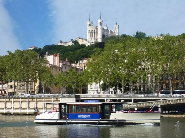 Vaporetto Lyon Confluence